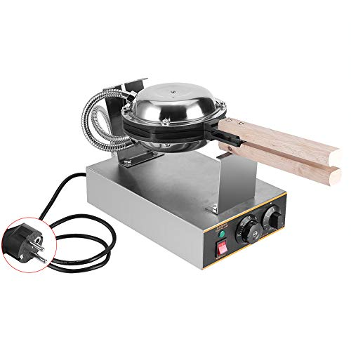 1.4KW Acciaio Inossidabile Waffle Maker Anti-Aderente Pan Cottura Macchina per Pane Prima Colazione...