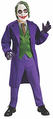 Rubie' s costume deluxe da Joker, ufficiale, da bambini, taglia M