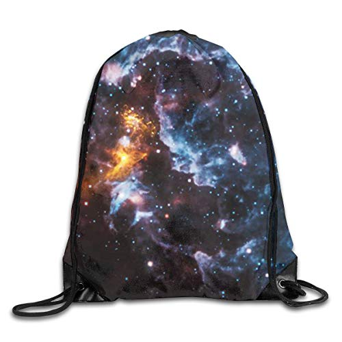 uykjuykj Coulisse Sacchetto,Zaino Coulisse Sacchetto, Drawstring Bag Illusions in The Cosmic Clouds...