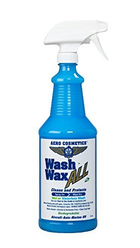 Waterless Car Wash Wax 32 oz. Aircraft Quality Wash Wax for your Car RV & Boat. Best Waterless Wash on the Market #1 Best Seller on Amazon U.S.