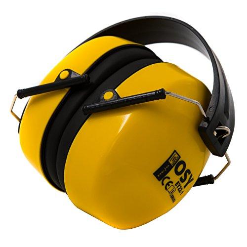 Protectores Auditivos de Cápsula ACE, Plegables, EN 352-1 SNR 25dB, Una Protección Auditiva Ideal Contra Ruidos de Intensidad Media y Baja