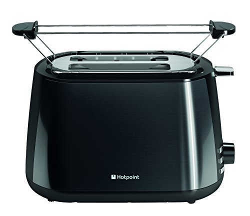 Hotpoint TT 22M DBK0 L My Line Toaster, Black by Hotpoint