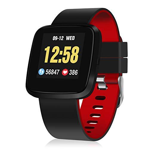 Fitness Tracker, GOOJODOQ Orologio Intelligente Braccialetto Fitness Activity Tracker...