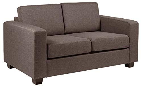 Amazon Brand - Movian Morat - Divano a 2 posti, 90 x 154 x 80 cm (Lu x La x A), marrone