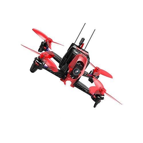Walkera Rodeo 110 Drone con Videocamera 600TVL, Nero/Rosso