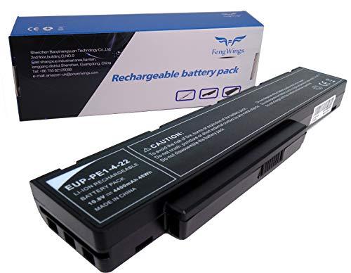 10.8V 4400mAh SQU-712 SQU-714 EUP-PE1-4-22 Reemplace la batería del portátil por Packard Bell EasyNote MH35 MH36 MH45 MH85 MH88 F1235 F1236 F1245 Hera C HERA GL HERA G