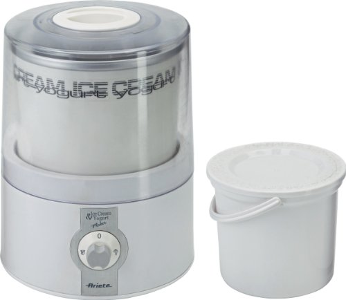 Ariete 635.0 Macchina per Yogurt, Plastica, Bianco