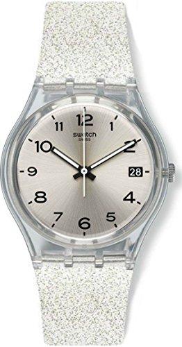 Swatch Orologio Digitale Quarzo da Donna con Cinturino in Silicone GM416C