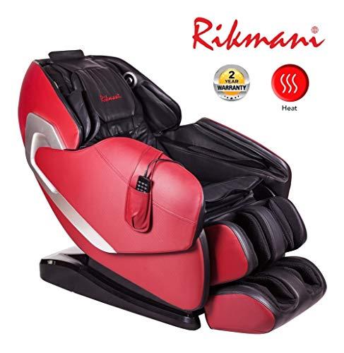 Poltrona massaggiante Zero Gravity - Poltrona massaggiante 3D con funzione riscaldante - Poltrona relax Shiatsu - Poltrona massaggiante