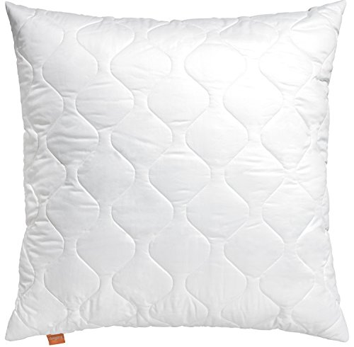 sleepling 190011 Cuscino in Microfibra 70 x 90 cm, Bianco