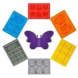 Stampo per Ghiaccio,newyond Vassoio Ghiaccio,Star Wars giocattolo, siliconico ghiaccio Tema del partito(ham solo)
