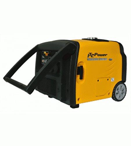ITC Generadores de corriente Inverter corriente Físico y de gasolina y gas 3,2kW gg35ei de LPG profesional