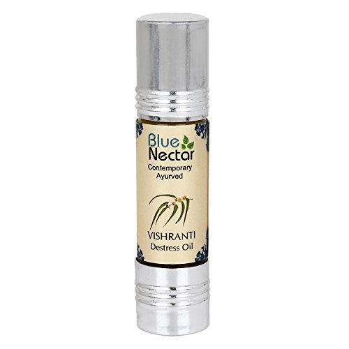 Blue Nectar Destress Roll on, Headache Relief and Migraine Relief Roll On, 9ml