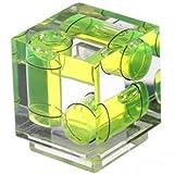 Polaroid Dreiachsen Doppelblasen Wasserwaage für Canon, Nikon Digitale und Filmkameras