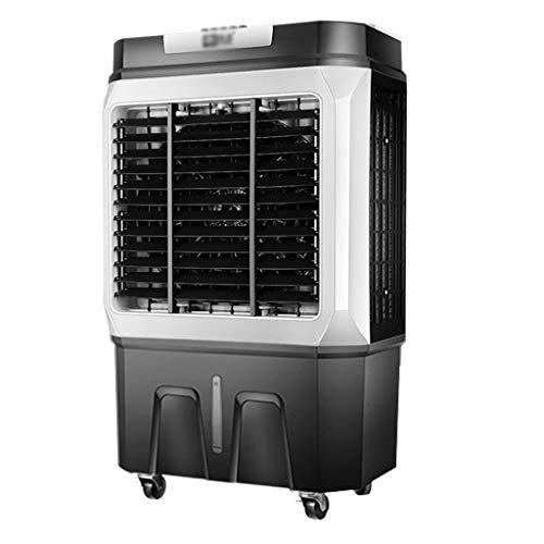 GXFC Enfriador de Aire por evaporativo | Ventilador,humidificador,Aire Acondicionado 3 en 1 | Tanque de Agua Grande 45L | Velocidad del Viento 4,Ultra-Tranquilo | 150W Ahorro de energía