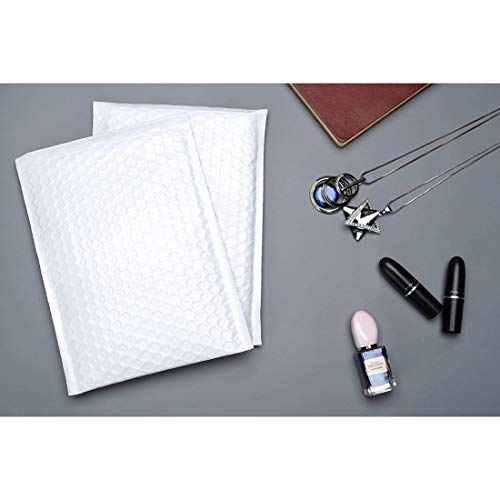 SECUREMENT Bubble Padded Courier Bags (Recyclable) - Select Any Size (Pack of 100) (6x7 inch - 100 Pcs)