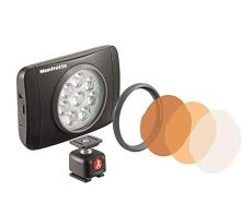 Manfrotto Lumimuse 8 LED, color negro