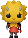 Funko- Pop Figura in Vinile: Animation: Simpsons-Lisa as Devil Collezione, Multicolore, 39721