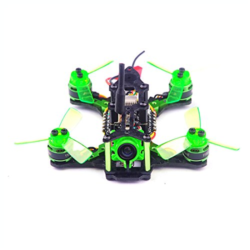 GEHOO GH Happymodel Quadcopter Mantis 85 Micro FPV RACING DRONE BNF con ricevitore Frsky D8/Flysky 8ch/Specktrum DSM2 (Compatible Flysky 8ch AFHDS 2A receiver)