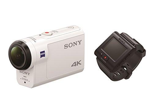 Sony FDRX3000R.CEN - Videocámara (4K, tecnologia Balanced Optical SteadyShot, WiFi, GPS, FullHD), blanco