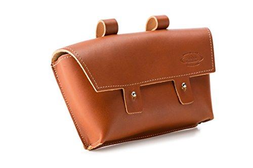 Cicli Bonin Monte Grappa Handlebar Leather Brandy Taschen braun 22 x 6 x 14 cm