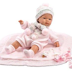 Llorens 38938–Vino Extremo muñeca con pequeño Techo Joelle, 38cm