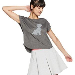 00734d476e Just F by Jacqueline Fernandez Women s Plain Slim Fit Top