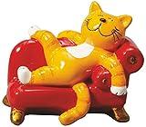 Oommh-Katze: Figur mit Sofa