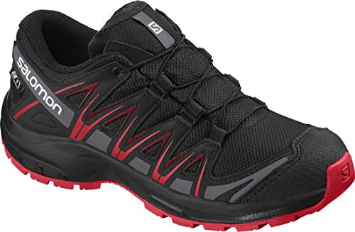 Salomon Kinder XA Pro 3D CSWP J, Trailrunning-Schuhe, Wasserdicht, Schwarz...
