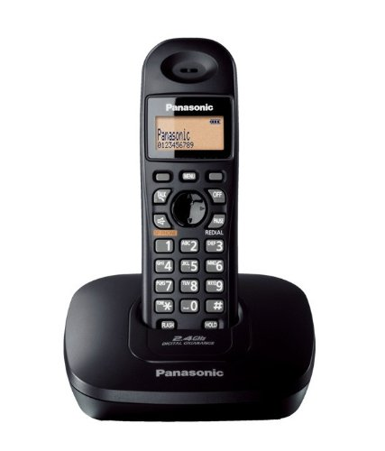 Panasonic Single Line 2.4GHz KX-TG3611SX Digital Cordless Telephone
