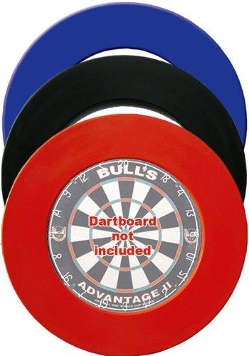 McDart Dartboard Surround in verschiedenen Farben (Rot)