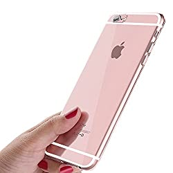 Kaufen ikalula iPhone 6S Schutzhülle, iPhone 6 Handyhülle, Crystal iPhone 6S Hülle Ultra Dünn Kratzfest Anti-Shock Silikon Flexibel Gel TPU Bumper Case für iPhone 6 / iPhone 6S Cover - Transparent