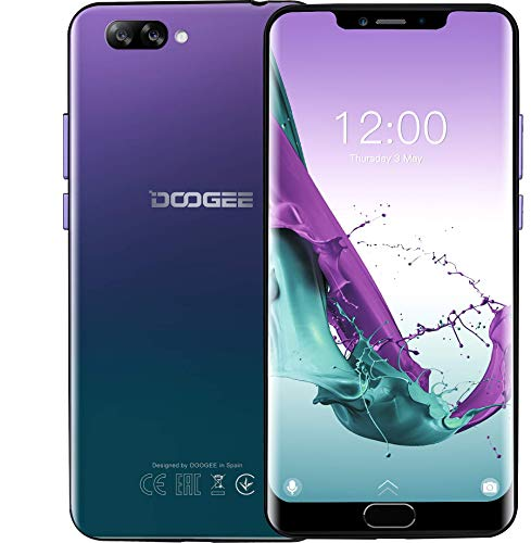 DOOGEE Y7 Plus Android 8,1 4G LTE Smartphone Ohne Vertrag...