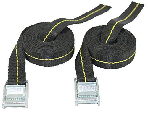 Kayak Lashing Straps - Stand Up Paddle Board - Surfboard - Tie Down Straps - 2 Pack (8)