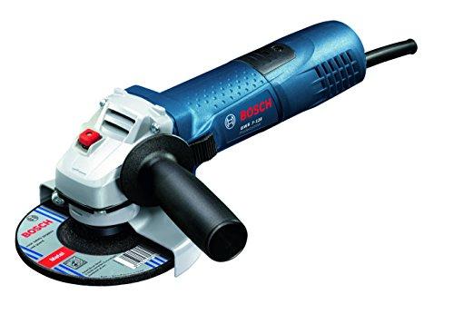 Bosch Professional 0601396104 Meuleuse Angulaire GWS 9-115 S en Boîte en Carton avec Pack d'Accessoires, 900 W, Bleu