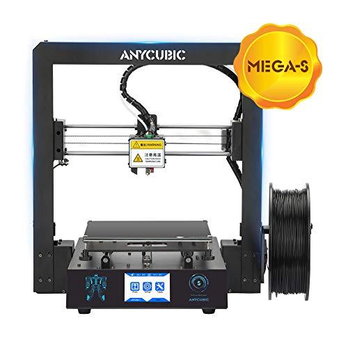 ANYCUBIC Stampante 3D i3 Mega S Dimensioni di stampa 210 x 210 x 205mm equipaggiata con piatto di...