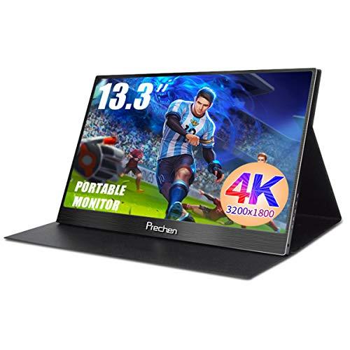 13.3 pollici 2k 2560x1440 Portatile Monitor Full HD IPS LED Gaming Schermo con doppia HDMI/USB...