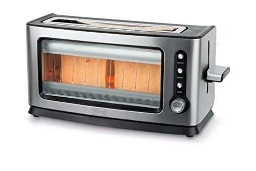 Trebs 99320–Tostapane automatico a infrarossi con finestra in acciaio inox Design, 7livelli...