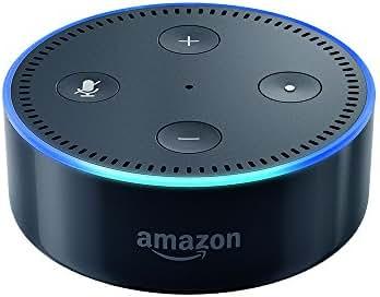 Amazon Echo Dot (Vorherige Generation - 2. Gen.), Zertifiziert und generalüberholt, Schwarz