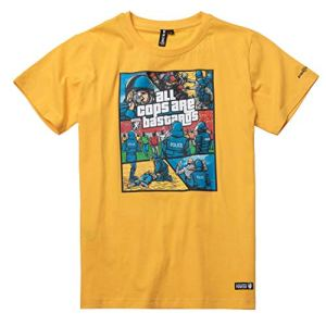 PG-Wear-Bastards-ACAB-T-Shirt-Yellow