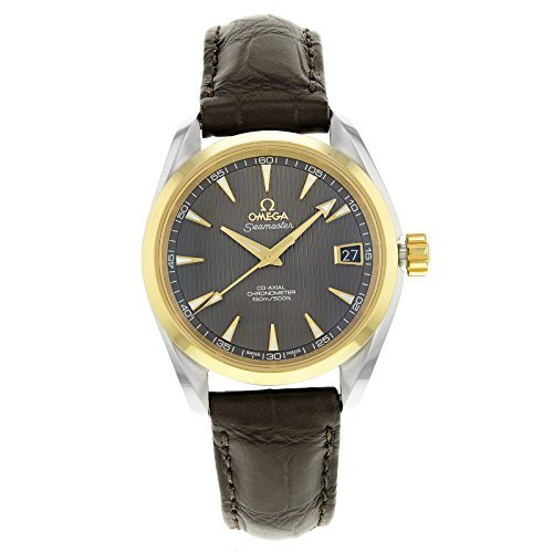 Omega Aqua Terra 231.23.39.21.06.002Stahl & Gold automatische Herren-Armbanduhr von Omega