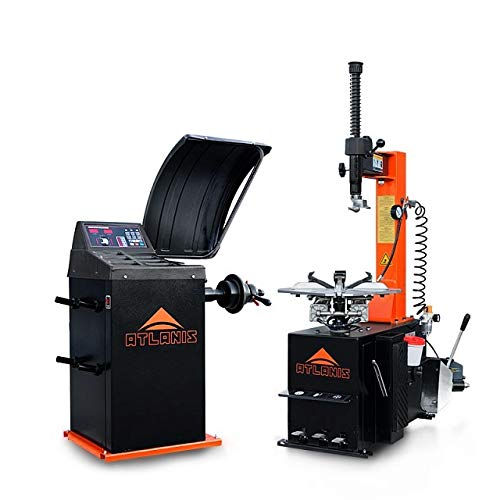 ATLANIS Reifen Montiermaschine und Wuchtmaschine A-HA-1000-230V1S-V02 und A-HA-2000-230V-V02 im Set