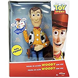 Toy Story - Figura de Woody, articulada con voz en español (Bizak 61234071)