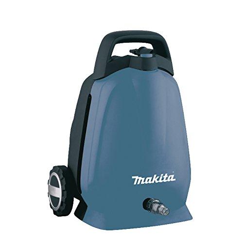Makita HW102 - Limpiador de alta presión (Eléctrico, Negro, Azul, 5 m, 360 l/h, 100 barra, 50 °C)