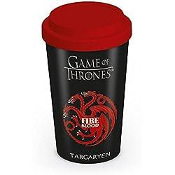 "Vaso/Copa de viaje Games of Thrones ""House/Casa Targaryen"""