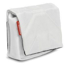 Manfrotto Nano II - Funda para cámara(108 g, 60 x 120 x 80 mm), Color Blanco