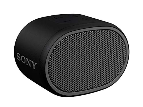 Sony SRS-XB01 Speaker Compatto, Portatile e Resistente all'Acqua con Extra Bass, Nero