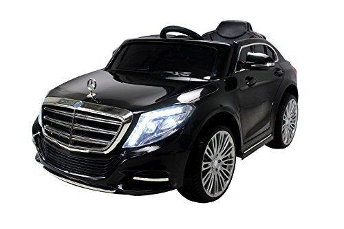 #Kinder Elektroauto Mercedes S600 Lizenziert EVA Tyres – Dashboard – Ledersitz Kinderauto Elektro Auto Spielzeug für Kinder#