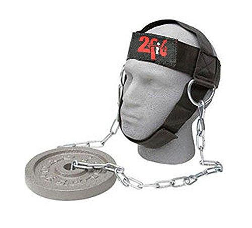 2Fit Your Fitness Partner 2Fit Gym Arnés de cabeza para levantamiento de peso, correa ajustable, entrenamiento para el cuello