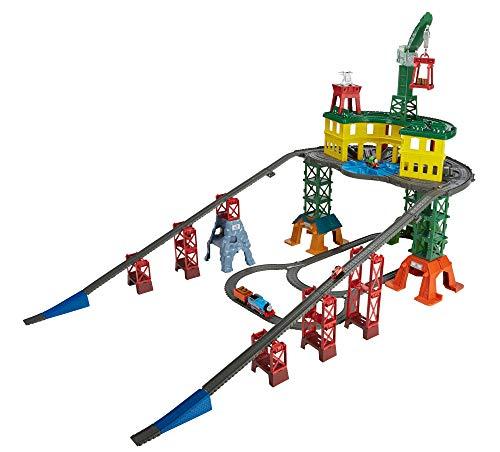 Thomas & Friends- Thomas Super Station Mega Stazione con 3 Livelli di Gioco e più di 10 Metri di...